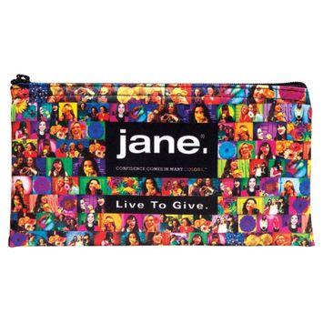 Jane Cosmetics Giving Back Makeup Bag