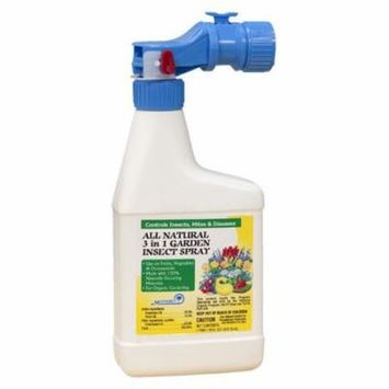 All Natural 3 in 1 Garden Insect Spray