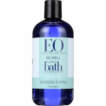 Eo Bubble Bath, Be Well, Eucalyptus & Arnica, 12 Oz