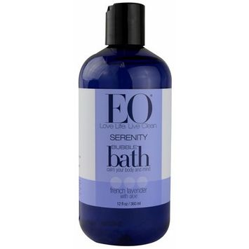 EO Essential Oil Products Bubble Bath Serenity French Lavender with Aloe -- 12 fl oz