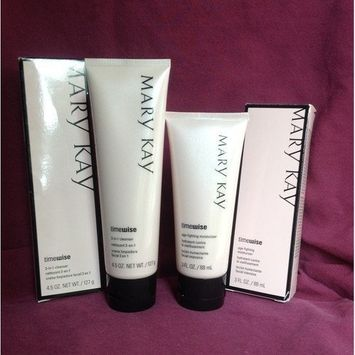 Mary Kay Timewise Cleanser and Moisturizer Set for Combination to Oily Skin Boxed Fresh Made 2012 Retail $40