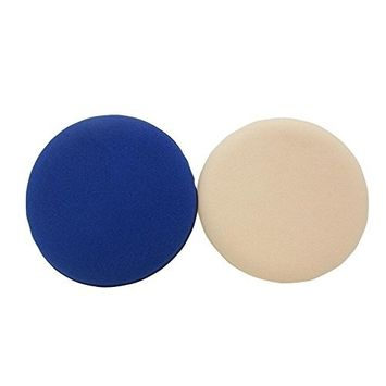 2PCS Sponge Powder Puff-Proffesional Plush Foundation Makeup Cosmetic Blusher Applicator With Separate Package(Mixed Color)