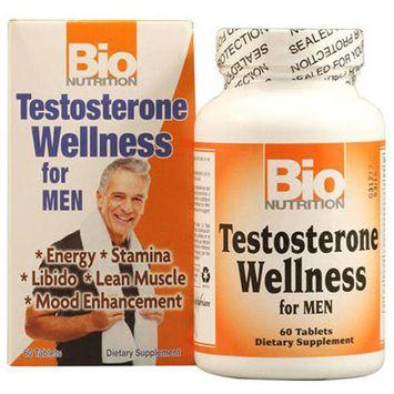 Bio Nutrition Inc Testosterone Wellness, Tablets, 60 CT