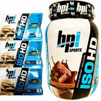 BPI Sports ISO HD Whey Protein 1.6LB W/SAMPLES (Chocolate Brownie)