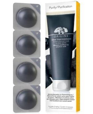 Origins Clear Improvement Active Charcoal Mask Pods to Go