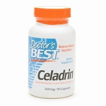 Doctor's Best Celadrin, Non-GMO, Gluten Free, Joint Support, 500 mg, 90 Caps