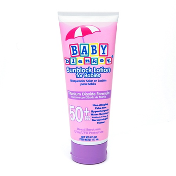 Baby Blanket Sunblock Lotion for Babies