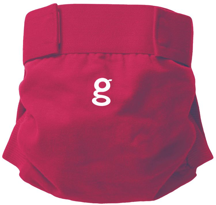 gDiapers Little gPant - Goosey Grey