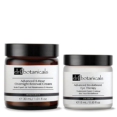 Dr Botanicals Triple Action Nutritive Micellar Cleansing Water and Advanced Purifying Overnight Masque