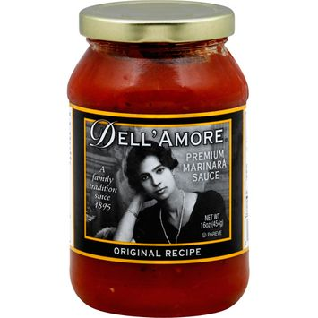 Dell'Amore Original Premium Marinara Sauce, 16 oz, (Pack of 12)
