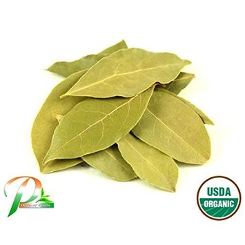 Pride Of India - Organic Indian Bay Leaf Whole, 1oz (28gm) Pack