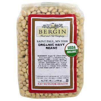 Bergin Fruit and Nut Company, Organic Navy Beans, 16 oz