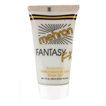 (3 Pack) mehron Fantasy F-X Makeup Water Based - Moonlight White : Beauty