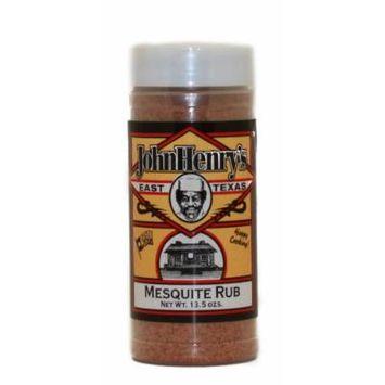John Henry's Mesquite Rub Hot