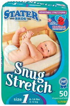 Stater bros Snug Stretch Adjustable Stretch Grip Jumbo Pack Size 1