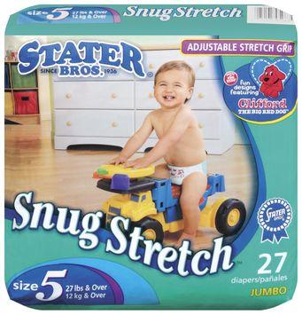 Stater bros Snug Stretch Adjustable Stretch Grip Size 5