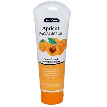 FACIAL SCRUB 8OZ APRICOT TUBE XTRACARE, Case Pack of 24