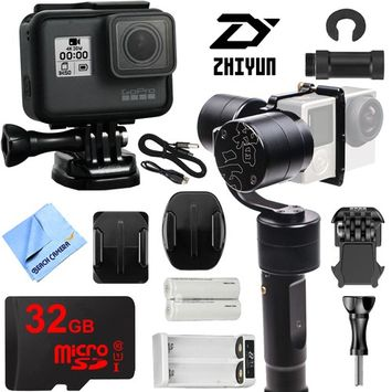 Zhiyun Evolution 3-Axis Handheld Gimbal Stabilizer with GoPro HERO5 Action Camera Kit