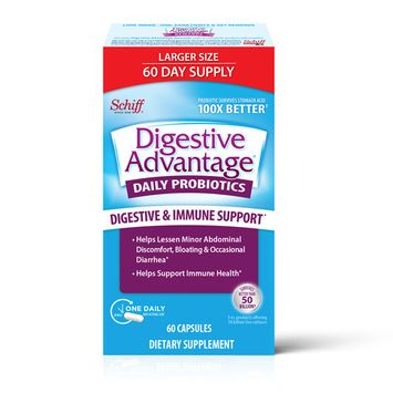 Digestive Advantage, Daily Probiotic Dietary Supplement - 60 Capsules [name: multipack_quantity value: multipack_quantity-1]