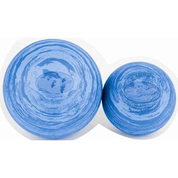 Ecowise 85301 6 in. Posture Ball- Marble Blue