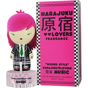 Harajuku Lovers Music Wicked Style Eau De Toilette Spray