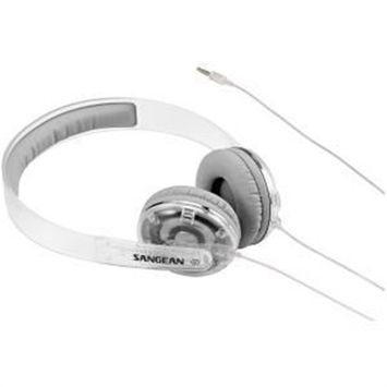 Sangean EU-55CL Clear Stereo Headphones Accs Clear Full Size Headphones