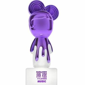 Pop Electric Music By Harajuku Lovers Eau de Parfum Spray For Women 0.5 oz