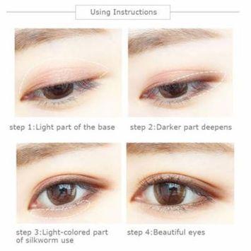 SUIKONE Double Head Air Cushion Eyeshadow Stick Natural Eye Shadow Cream Pen