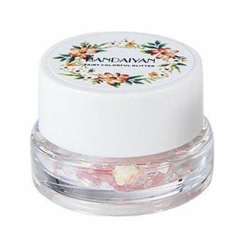 HANDAIYAN Glitter Eyeshadow Shiny Shimmer Highlighter Waterproof Pigments Long Lasting Eye Shadow Eye Makeup Cosmetic