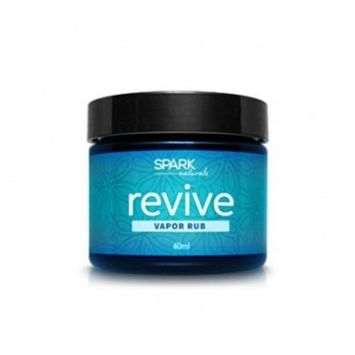 Revive Vapor Rub Spark Naturals Essential Oil Salve Organic 100% Pure