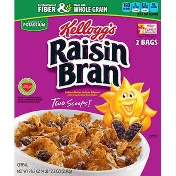 Kellogg's Raisin Bran, 2 pk./76.5 oz. AS