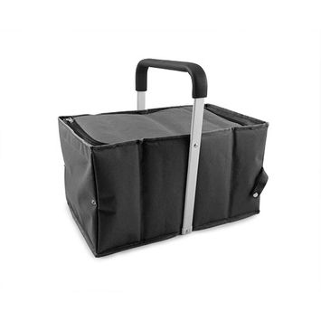 Accordion Cooling Carrier in Black by True
