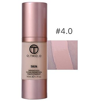 Fenleo Foundation Make Up Concealer Basis Face Glow Liquid Foundation Cream 4 Colors