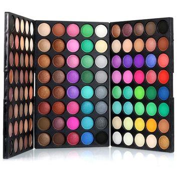 Eyeshadow Palette,Putars Fashion 120 Colors Cosmetic Powder Eyeshadow Palette Makeup Set Matt Available