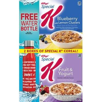 Kellogg's Special K Blueberry with Lemon Clusters and Fruit & Yogurt Variety Pack, (37.9 oz.) AS
