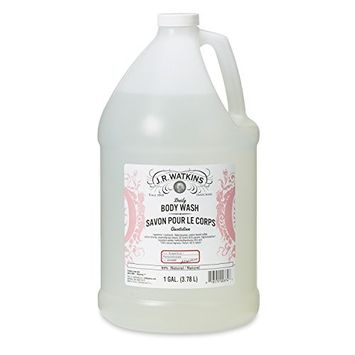J.R. Watkins Daily Moisturizing Body Wash, Grapefruit, 128 ounce
