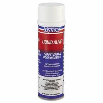 Dymon® LIQUID ALIVE Carpet Cleaner/Deodorizer, 20oz, Aerosol