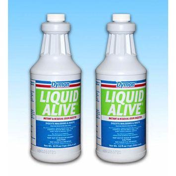 Premium Liquid Alive Odor Digester 1 QT [Set of 2 Bottles]