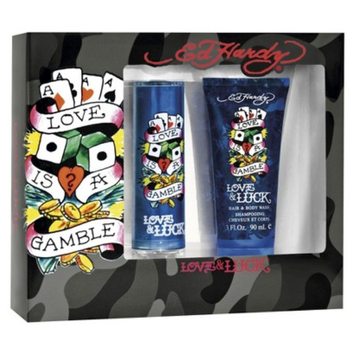 Men's Love & Luck by Ed Hardy Fragrance Gift Set - 2 pc