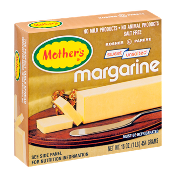 Mother's Margarine Sweet Unsalted