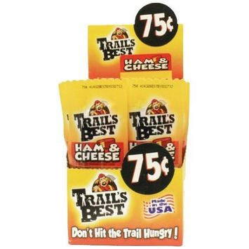 Trail's Best Ham and Cheese Sticks, 1-Ounce (Pack of 20)