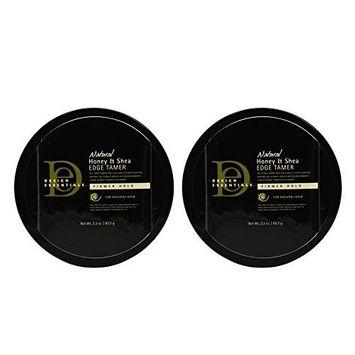 Design Essentials Natural Honey & Shea Edge Tamer 2.3oz by Design Essentials (Pack of 2)