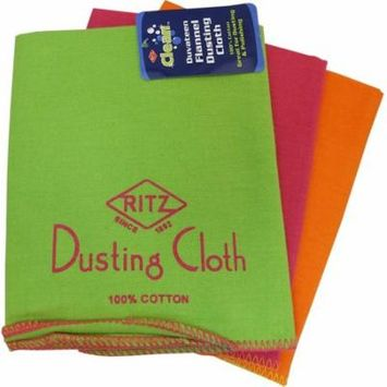 Ritz Duvateen Flannel Duster assorted bright warm colors 16in x 20in