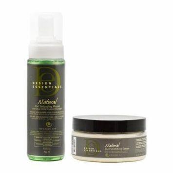 Design Essentials Natural Curl Enhancing Mousse + Stretching Cream 7.5oz