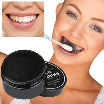 OVERMAL Teeth Whitening Powder Natural Organic Activated Charcoal Bamboo Toothpaste