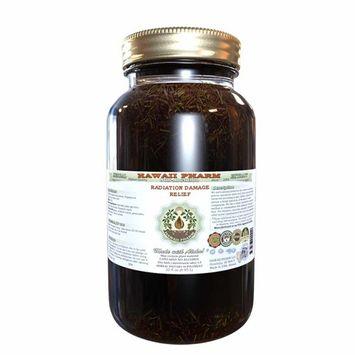 Radiation Damage Relief Glycerite, Milk Thistle (Silybum Marianum) Dried Seed, Holy Basil (Ocimum Tenuiflorum) Dried Herb, Pot Marigold (Calendula Officinalis) Dried Part Alcohol-Free Liquid