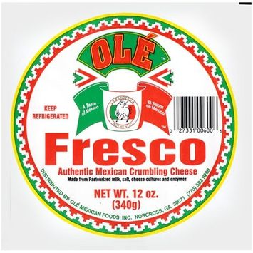 Ole Authentic Mexican Crumbling Cheese, 12 oz