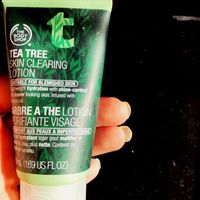 THE BODY SHOP® Tea Tree Mattifying Lotion uploaded by Kathrine O.