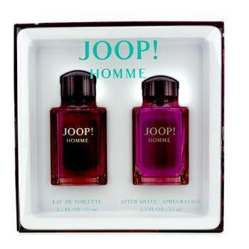 Joop Homme Coffret: Eau De Toilette Spray 75ml/ 2.5oz + After Shave Splash 75ml/2.5oz 2pcs