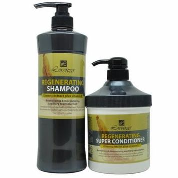 Lorenzo Regenerating Shampoo 1000 ml + Super Conditioner 800 ml